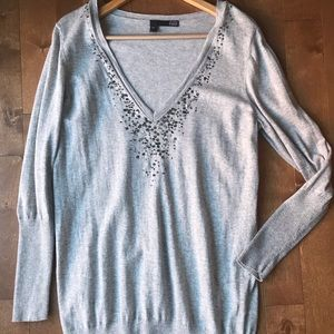 Eileen Fisher Organic Cotton Cashmere Sweater